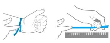 como obtener la talla de tu pulsera